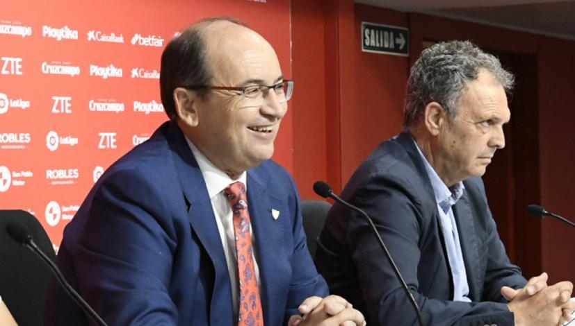 El Sevilla sigue pensando en reforzar su plantilla
