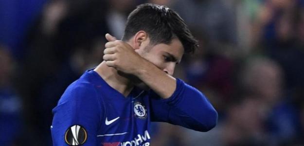 Morata, con el Chelsea (EFE)