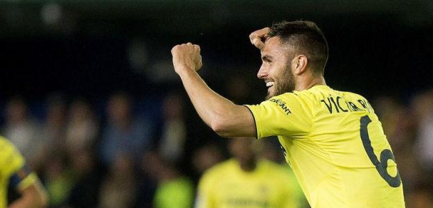 Victor Ruiz en un partido con el Villarreal / Villarreal