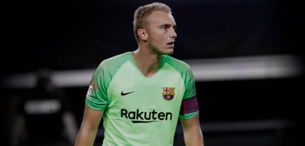 Jasper Cillessen en un partido / Barcelona