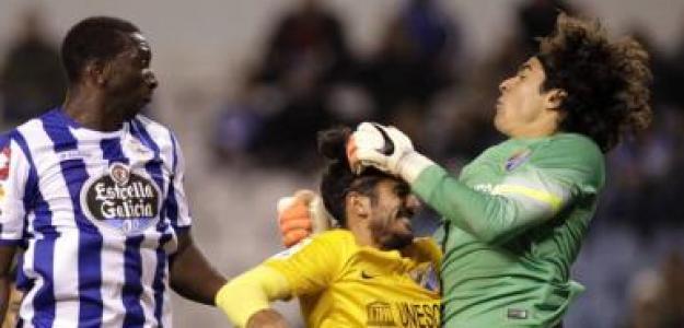 Málaga - Deportivo de La Coruña / Copa del Rey