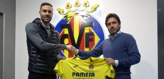 Vicente Iborra, el día de su presentación / Villarreal CF.
