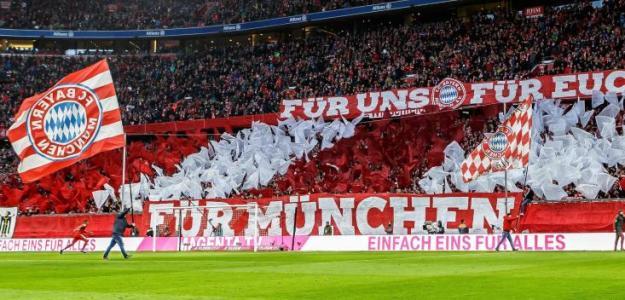 Afición del Bayern de Múnich / Facebook.