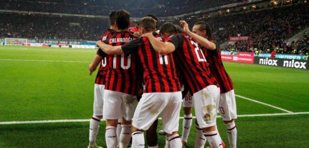 Jugadores del AC Milan / Facebook.