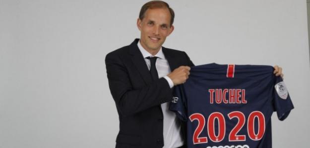 Tüchel, el día de su presentación (PSG)