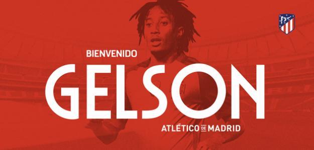 El anuncio del fichaje de Gelson en verano (Atlético de Madrid)