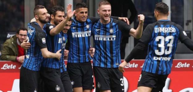 Inter, celebrando un gol / twitter