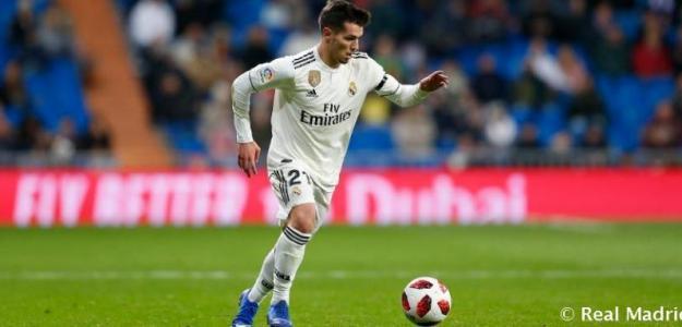 Brahim, el día de su debut (Real Madrid)