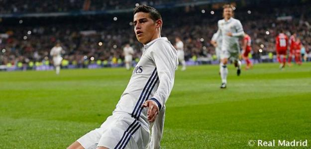 James Rodríguez / Real Madrid.