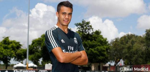 Reguilón, en una foto de archivo (Real Madrid)
