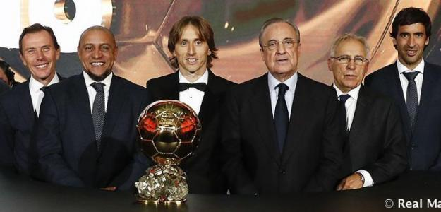 Florentino, el día que Modric ganó el Balón de Oro (Real Madrid)