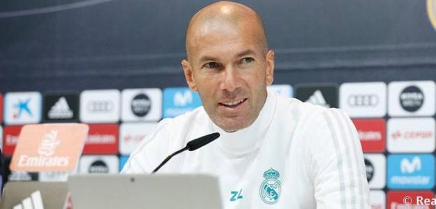 Zidane en rueda de prensa / Real Madrid.