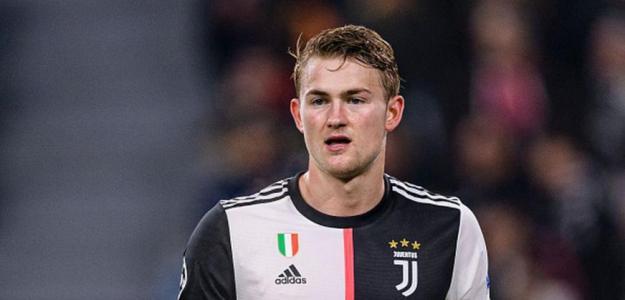 A De Ligt le sonríen los astros en la Juventus / depor.com