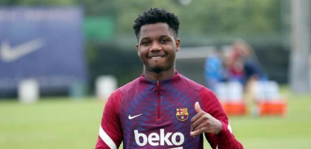 Ansu Fati pudo ser jugador del Real Madrid