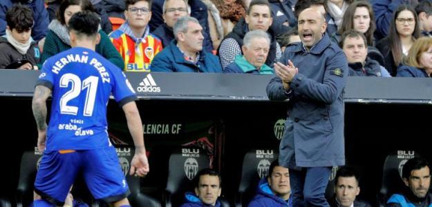 Abelardo Fernández, entrenador del Alavés. Foto: Cadenaser.com
