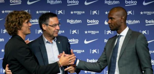 Abidal sorprende con unas declaraciones que alejan a Neymar del Camp Nou. Foto: EFE