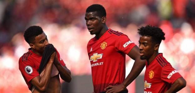 Los jugadores del Manchester United durante un partido. / independent.co.uk