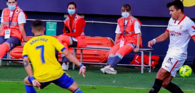 """Marcos Acuña hace olvidar a Reguilón en el Sevilla """"Foto: LaLiga"""""""