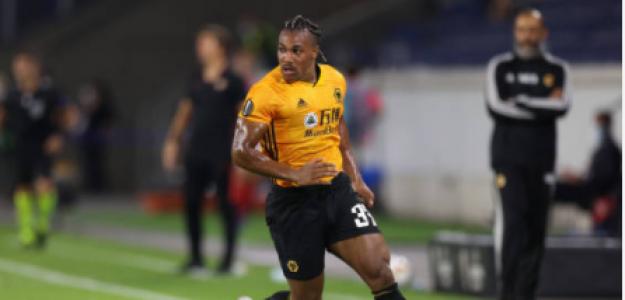 """""""Los Wolves, obligados a vender a Adama Traoré. Foto: Getty Images"""""""