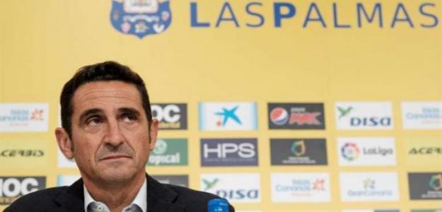 Manolo Jiménez, con la UD Las Palmas (EFE)