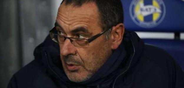 Sarri, con el Chelsea (EFE)