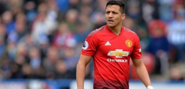 La alegría de los jugadores del United al librarse de Alexis | Foto: elperiodico.com