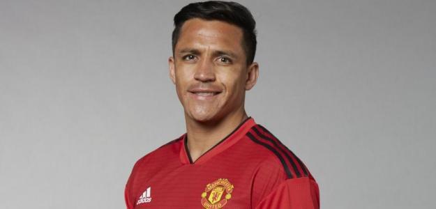 Alexis Sánchez, jugador del Manchester United / manutd.com