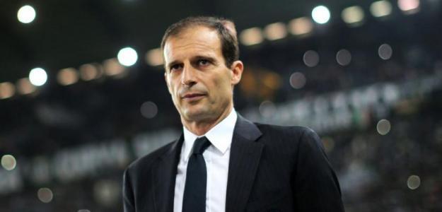 Allegri durante un partido / Juventus