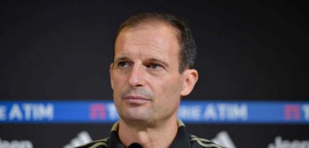 Allegri en una rueda de prensa / Juventus