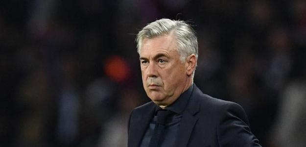 Carlo Ancelotti, con el Nápoles / twitter