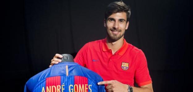 Everton, Tottenham, West Ham y Arsenal quieren a André Gomes (FC Barcelona)