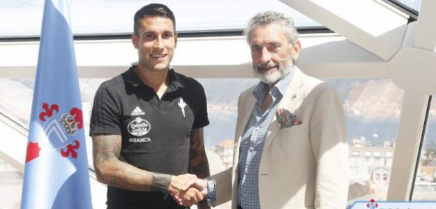 Hugo Mallo y Carlos Mouriño (Celta de Vigo)