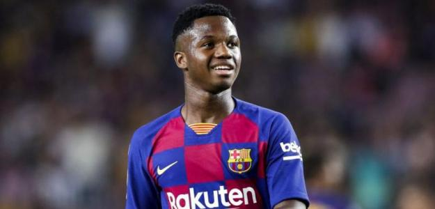 La Juventus también pregunta al Barcelona por Ansu Fati