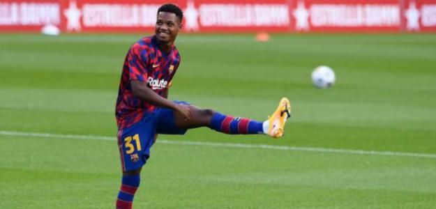 El FC Barcelona rechaza una gran oferta por Ansu Fati. Foto: AS