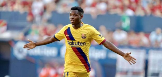 El Barcelona ya piensa en la mejora de contrato de Ansu Fati