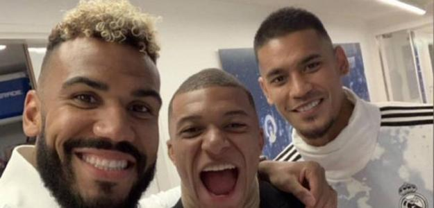 Areola con M'Bappe y Choupo-Moting