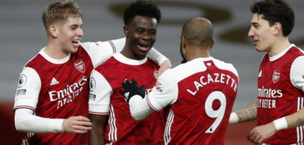 """Los 6 jugadores que el Arsenal quiere vender este verano """"Foto: Daily Mail"""""""