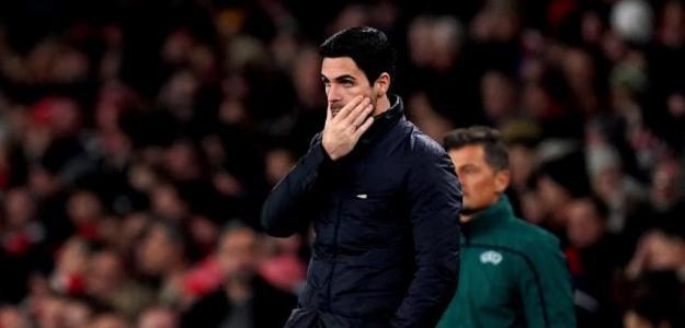 El primer fracaso de Arteta en el Arsenal
