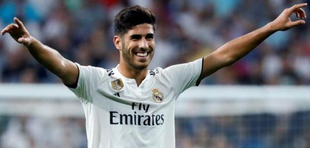 Asensio en un partido con el Real Madrid / Youtube