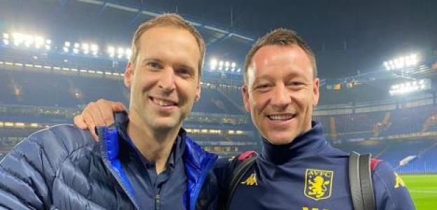 Terry con Cech al acabar el partido. / twitter.com (@ChelseaFC_Sp)