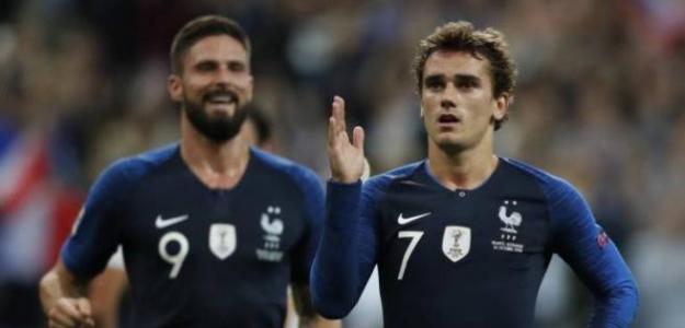 Griezmann celebrando un gol con Francia. / alicanteplaza.com