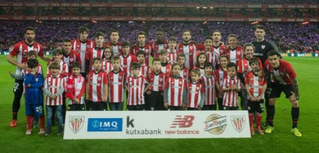 Athletic Club de Bilbao, antes de un partido / twitter.