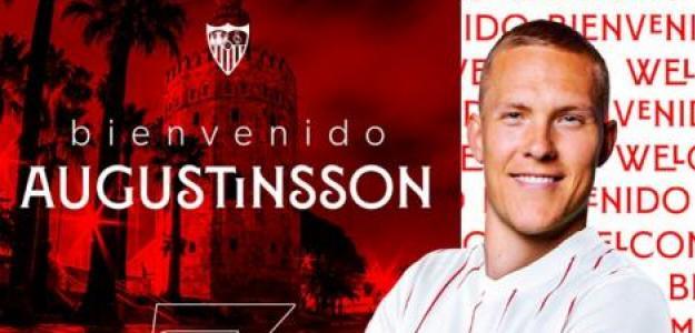OFICIAL: Augustinsson, nuevo refuerzo del Sevilla - Foto: Twitter Sevilla FC