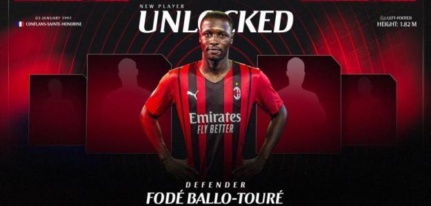 OFICIAL: Fodé Ballo-Touré, nuevo jugador del Milan - Foto: Twitter (@acmilan)