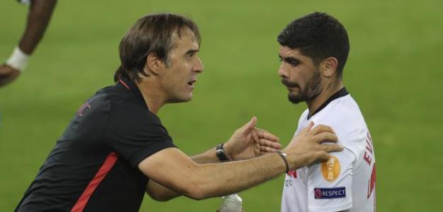 Sevilla y Lopetegui siguen extrañando a Banega