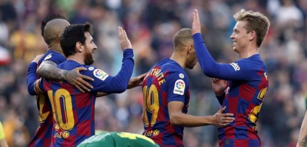 El Barça recupera el liderato pese a no convencer. Foto: FCB