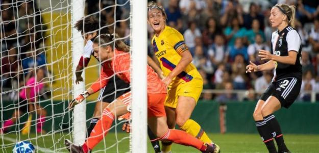 Imagen del uno de los goles del Barcelona. / @FCBfemeni