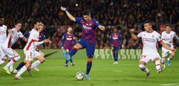 Suárez marcó un gol de fantasía