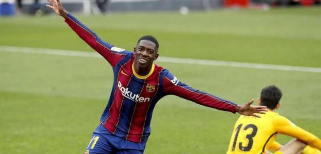 El FC Barcelona renovará a Ousmane Dembelé. Foto: Diario Gol