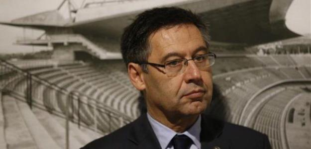 Bartomeu, en un acto oficial / fcbarcelona.es.